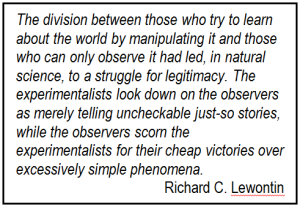 Lewontin quote